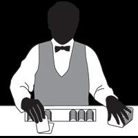 blackjack sverige svart vit
