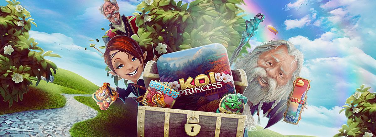 Koi Princess - ett nytt spel med vinstsäkra free spins