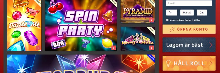 sverige casino ansvarsfullt spel