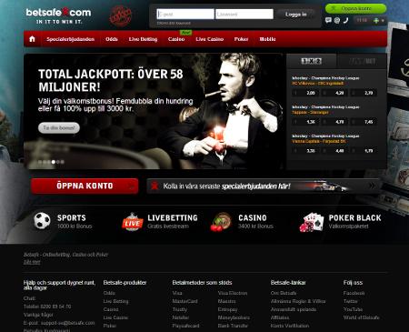 betsafe sverige casino