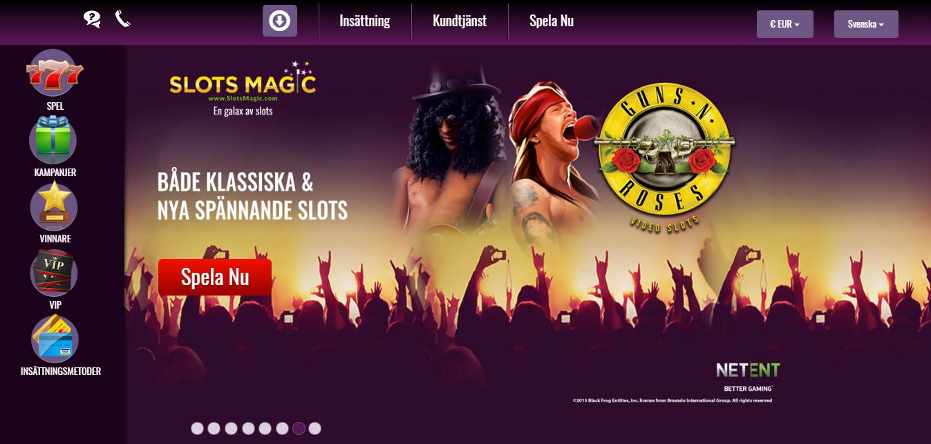 slotsmagic casino sverige