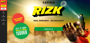 rizk spelsajt casino sverige