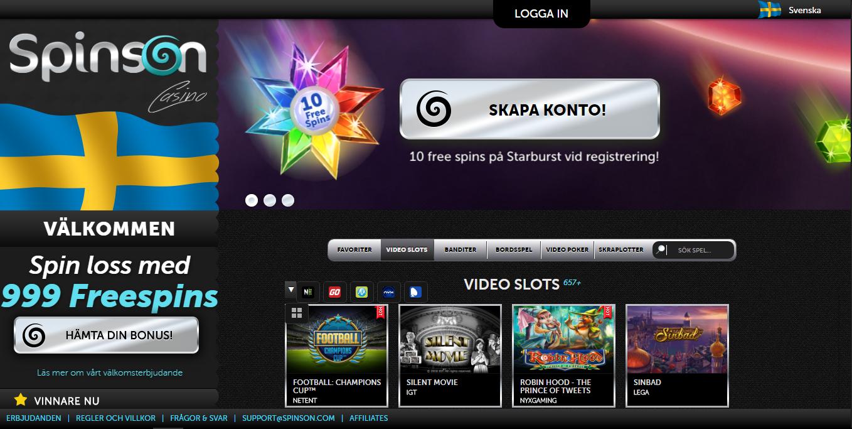 spinson desktop casino