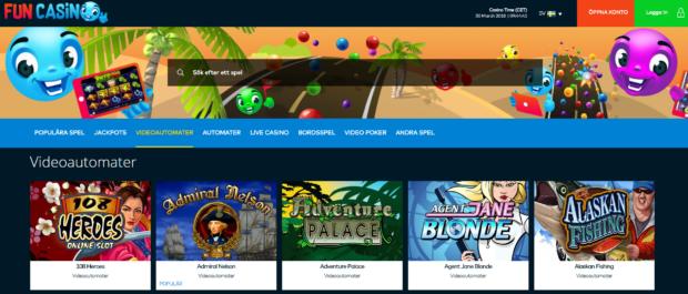 bästa online casino slots