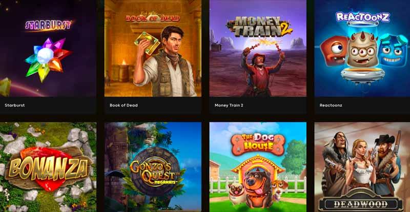 Spel hos GoGo Casino