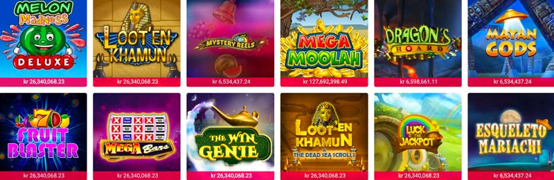 Slots med jackpot hos Party Casino