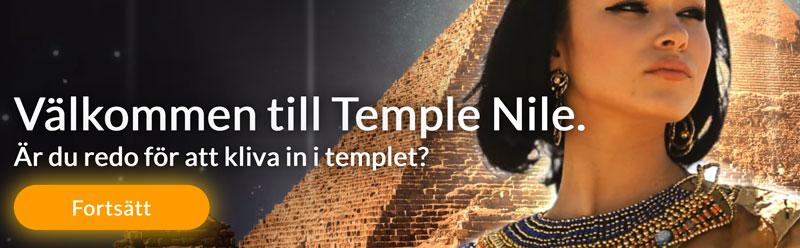 Välkommen till Temple Nile