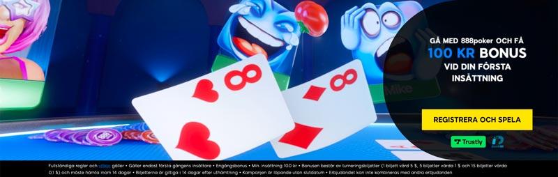 888poker välkomstbonus