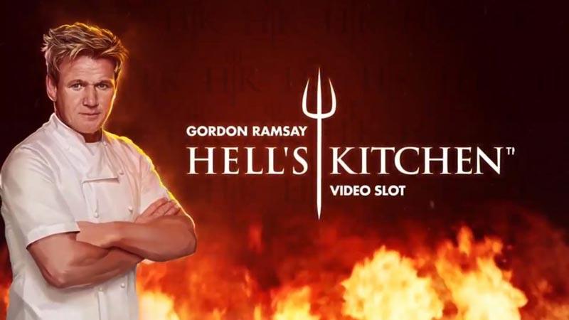 Bild på sloten Gordon Ramsay Hell's Kitchen - Ett nytt casinospel från NetEnt som släpptes maj 2021