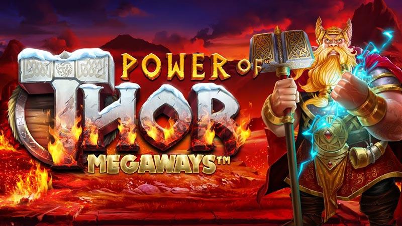 Bild på sloten Power of Thor Megaways - Ett nytt casinospel från Pragmatic Play som släpptes maj 2021