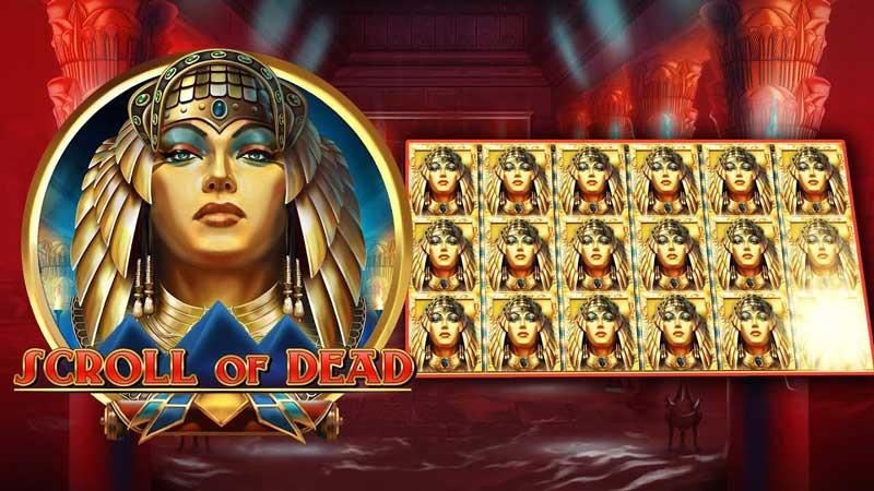 Bild på sloten Scroll of Dead - Ett nytt casinospel från Play N Go som släpptes maj 2021