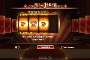 free reelin joker win