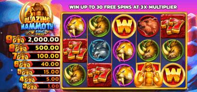 Blazing mammoth wins